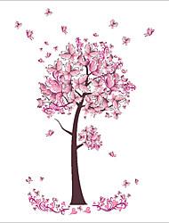 Недорогие -Декоративные наклейки на стены - Простые наклейки / Наклейки для животных Натюрморт / Цветочные мотивы / ботанический В помещении / Детская / Влажная чистка / Съемная