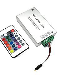 Недорогие -ZDM® 1шт SMD 3528 / SMD 5050 Дистанционно управляемый / Аксессуары для ламп / Газонокосилка Контроллер Пластиковые & Металл для RGB LED Strip Light 120 W