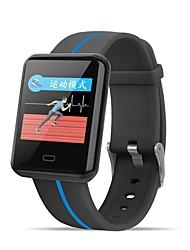 baratos -BoZhuo F5 Pulseira inteligente Android iOS Bluetooth Impermeável Monitor de Batimento Cardíaco Medição de Pressão Sanguínea Tela de toque Calorias Queimadas Podômetro Aviso de Chamada Monitor de Sono