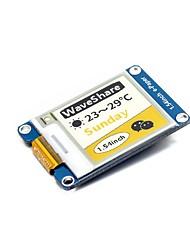 Недорогие -wavehare 1.54inch e-paper module (c) 152x152 1.54inch модуль отображения электронных чернил желтый / черный / белый трехцветный
