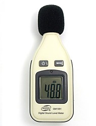 Недорогие -1 pcs Пластик Шумомер Удобный / Измерительный прибор / Pro 30-130db GM1351