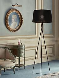 Недорогие -штатив торшер современный современный металлический светильник оттенок ткани для чтения стоя для гостиной спальни прихожая офис белый черный красный