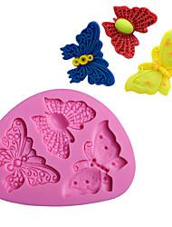 Недорогие -1шт силикагель обожаемый 3D Своими руками Повседневное использование Торты Для приготовления пищи Посуда Формы для пирожных Инструменты для выпечки