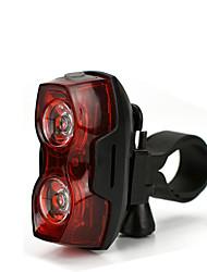 Недорогие -Светодиодная лампа Велосипедные фары Задняя подсветка на велосипед огни безопасности задние фонари LED Горные велосипеды Велоспорт Анти-шоковая защита Быстросъемный Легкость Литий-ионная 100 lm