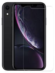 Недорогие -AppleScreen ProtectoriPhone XR Уровень защиты 9H Защитная пленка для экрана 1 ед. Закаленное стекло