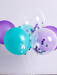 abordables -Ballon Latex 6pcs Vacances