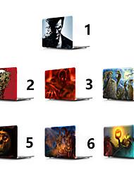 """Недорогие -MacBook Кейс Черепа / Halloween ПВХ для Новый MacBook Pro 15"""" / Новый MacBook Pro 13"""" / MacBook Pro, 15 дюймов"""