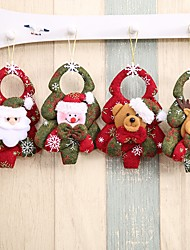 cheap -Ornaments Party Accessories Christmas / Party / Evening Christmas / Santa Suits / Elk Non-woven Fabrics