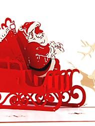 Недорогие -Спасибо карты Картон Свадебные украшения Рождество / Вечеринка / ужин Новогодняя тематика / Креатив / Урожай Theme Все сезоны