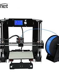 Недорогие -anet a6 высокоточные настольные 3D-принтеры большого размера репрессоры i3 diy self assembly lcd screen с SD-картой
