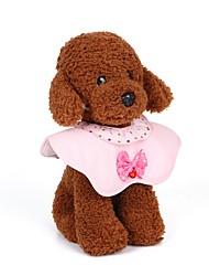 billige -Hunde / Katte / Små pelsdyr Krave / Halskæde Mini / Justerbar Størrelse / Afslappet / Hverdag Ensfarvet Metal Gul / Blå / Lys pink