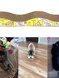 Недорогие -Царапины Гладкий стикер / Специально разработанный / Простой Картон Бумага Назначение Коты