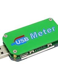 Недорогие -um24 usb 2.0 цвет lcd дисплей тестер напряжение тока измеритель вольтметр amperimetro зарядка аккумулятора измерение сопротивления кабеля