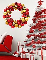 baratos -Decorações de férias Decorações Natalinas Enfeites de Natal Festa / Decorativa colour bar / Vermelho / Azul 1pç