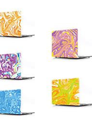 abordables -MacBook Etuis Peinture à l'Huile PVC pour MacBook Pro 13 pouces / MacBook Pro 15 pouces / MacBook Air 13 pouces