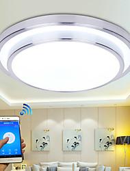 billiga -modern wifi LED taklampa app kontroll taklampa för vardagsrum familjeljus belysning ac110-240v