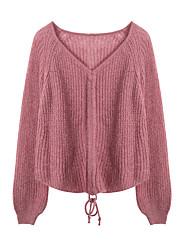 billige -Dame Gade Pullover - Ensfarvet