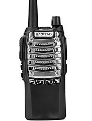 abordables -talkie-walkie portatif baofeng® uv-8d radio 10km 128 288mah 8w