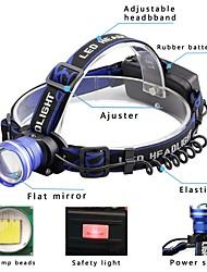 abordables -2000 lm Lampes Frontales / Phare Avant de Moto LED 3 Mode - U'King Fonction Zoom / Alarme / Faisceau Ajustable
