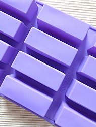 Недорогие -Инструменты для выпечки Силикон Творческая кухня Гаджет Необычные гаджеты для кухни Прямоугольный Десертные инструменты 1шт