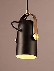 abordables -Nouveauté Lampe suspendue Lumière d'ambiance Finitions Peintes Métal Créatif 110-120V / 220-240V Blanc Crème Ampoule non incluse / E26 / E27