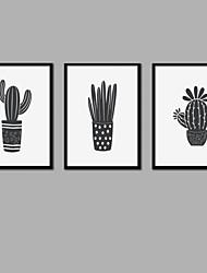 Недорогие -С картинкой Отпечатки на холсте - Halloween / Модерн Современный / Modern