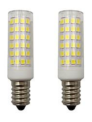 Недорогие -4w мини-e14 привело кукурузные огни 2835 smd 78 светодиодов для домашнего освещения люстра frigerator ac 220 - 240v теплый / холодный белый (2 шт)