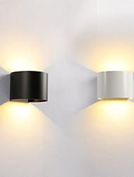 Недорогие -современные 12 Вт светодиодные уличные настенные светильники простота стиль прихожая лестница входная стена бра