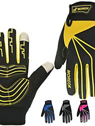 Недорогие -Спортивные перчатки Перчатки для велосипедистов Перчатки для сенсорного экрана Горные велосипеды Шоссейные велосипеды Водонепроницаемость Дышащий Сохраняет тепло Полный палец Холодная погода Зима
