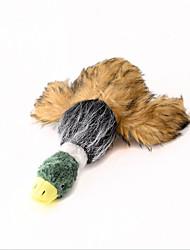 Недорогие -Плюшевые игрушки Животные / Мультфильм игрушки / Утка Плюшевая ткань Назначение Собаки / Коты