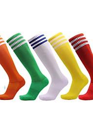 Недорогие -Взрослые Хлопок Муж. Мода Носки Легкость Для занятий спортом Атлетический 5 пар