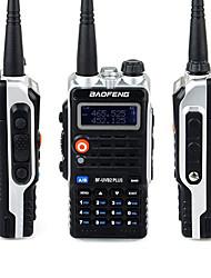 baratos -baofeng® bf-uvb2 mais walkie-talkie portátil > 10km rádio 8w em dois sentidos