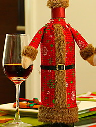 baratos -Sacos e Transportadores de Vinho Tecido Não-Tecelado Cubo Novidades Decoração de Natal