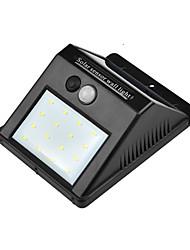 Недорогие -hkv® 8led солнечный свет сада привело солнечный светильник датчик движения водонепроницаемый наружное освещение украшение уличные фонари безопасность беспроводная настенная лампа