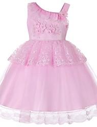 זול -שמלה ללא שרוולים אחיד בנות ילדים / פעוטות