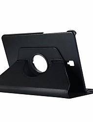 Недорогие -Кейс для Назначение SSamsung Galaxy Tab S4 10.5 (2018) со стендом / Флип / Поворот на 360° Чехол Однотонный Твердый Кожа PU для Tab S4 10.5 (2018)