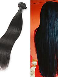 baratos -1 pacote Cabelo Malaio Liso Cabelo Natural Remy Extensões de Cabelo Natural 8-30 polegada Tramas de cabelo humano Macio / Melhor qualidade / Nova chegada Extensões de cabelo humano Mulheres