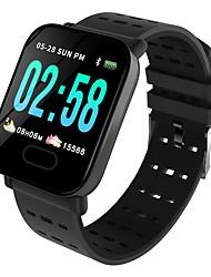 Недорогие -Indear M20/A6 Умный браслет Android iOS Bluetooth Спорт Водонепроницаемый Пульсомер Измерение кровяного давления / Сенсорный экран / Израсходовано калорий / Длительное время ожидания / Педометр