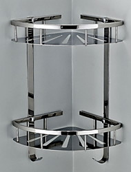 Недорогие -Полка для ванной Новый дизайн / Многофункциональный Modern Нержавеющая сталь 1шт Двуспальный комплект (Ш 200 x Д 200 см) На стену
