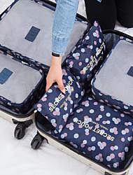Недорогие -Дорожная сумка Большая вместимость / Компактность Чемоданы на колёсиках / Одежда Сеть / Нейлон Путешествия