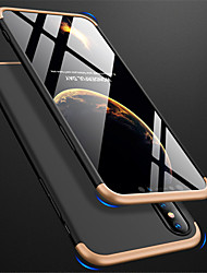Недорогие -Кейс для Назначение Apple iPhone XR / iPhone XS Max Матовое Чехол Однотонный Твердый ПК для iPhone XS / iPhone XR / iPhone XS Max