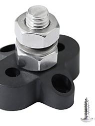 Недорогие -силовые клеммные колодки m10 одноступенчатая мощность и блок заземления (черный)