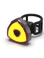 Недорогие -Задняя подсветка на велосипед Светодиодная лампа Велосипедные фары Велоспорт Водонепроницаемый, Быстросъемный, Градиент цвета Литий-ионная 100 lm Работает от USB Красный