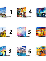 abordables -MacBook Etuis Paysage / Peinture à l'Huile PVC pour MacBook Pro 13 pouces / MacBook Pro 15 pouces / MacBook Air 13 pouces