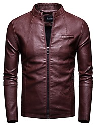 Cheap Mens Leather Jackets Lightinthebox Com