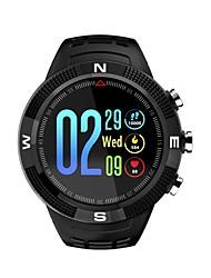 baratos -BoZhuo DF18 Relógio inteligente Android iOS Bluetooth satélite Esportivo Impermeável Monitor de Batimento Cardíaco Cronómetro Podômetro Aviso de Chamada Monitor de Sono Lembrete sedentária / Bússula
