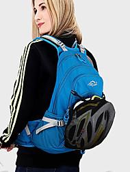 baratos -20-30 L Mochila de Ciclismo Portátil, Leve, Respirabilidade Bolsa de Bicicleta Poliéster / Material impermeável Bolsa de Bicicleta Bolsa de Ciclismo Equitação / Campismo / Moto