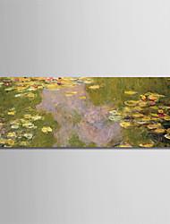 Недорогие -С картинкой Роликовые холсты - Известные картины Цветочные мотивы / ботанический Modern
