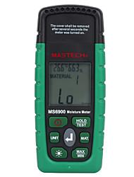 abordables -mastech ms6900 numérique humidimètre bois de sciage bâtiments en béton température testeur d'humidité avec écran lcd rétro-éclairage