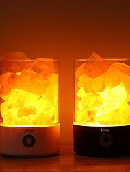 Недорогие -HKV 1шт LED Night Light RGB + белый USB Стресс и тревога помощи / Меняет цвета / Романтика 5 V